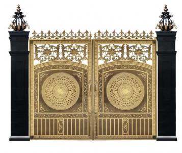 cổng nhôm đúc C12TG